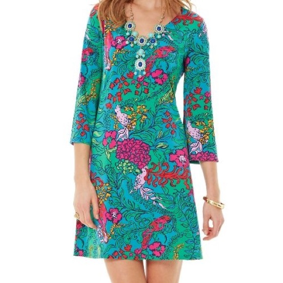 Lilly Pulitzer Dresses & Skirts - Lilly Pulitzer | jade tunic shake your tail 0564
